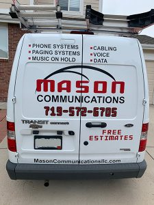 Mason-Communications-Company-Van